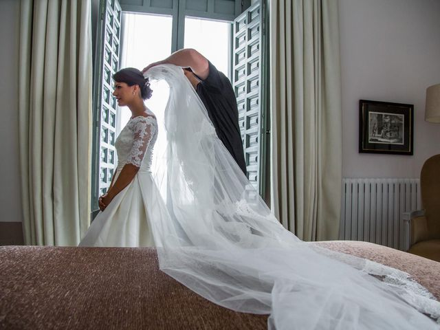 La boda de Javier y Zinaida en San Ildefonso O La Granja, Segovia 18
