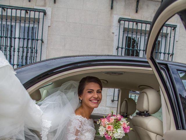 La boda de Javier y Zinaida en San Ildefonso O La Granja, Segovia 23