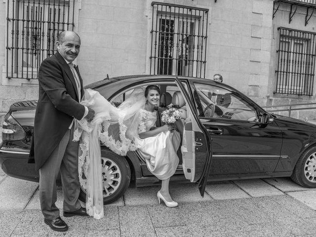 La boda de Javier y Zinaida en San Ildefonso O La Granja, Segovia 24