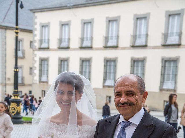 La boda de Javier y Zinaida en San Ildefonso O La Granja, Segovia 25