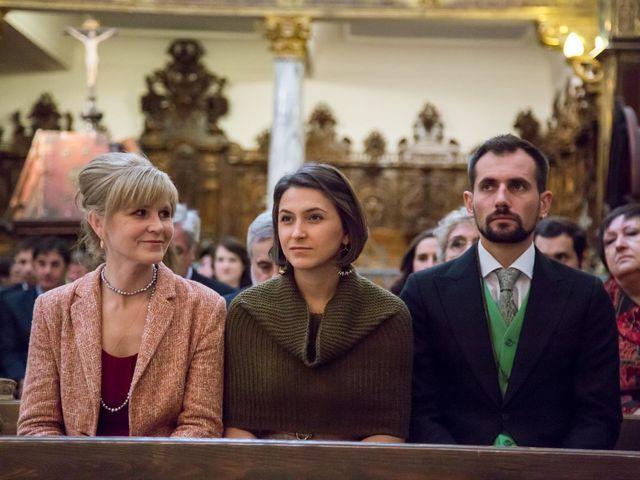 La boda de Javier y Zinaida en San Ildefonso O La Granja, Segovia 33