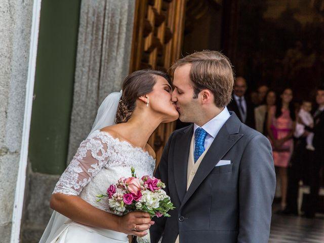 La boda de Javier y Zinaida en San Ildefonso O La Granja, Segovia 1