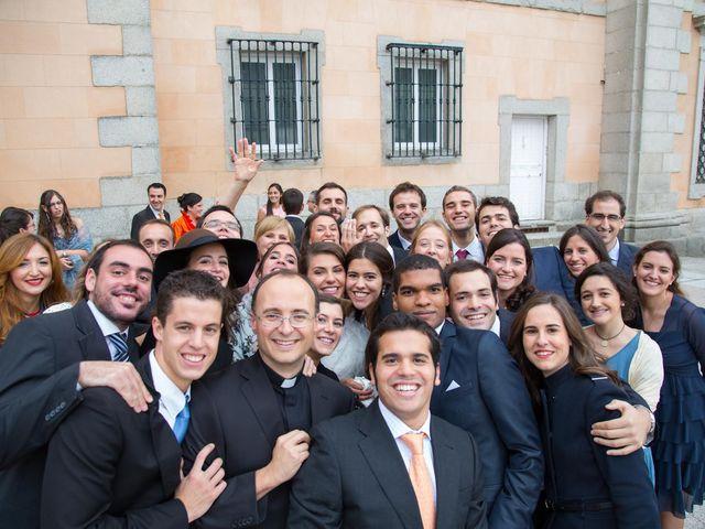 La boda de Javier y Zinaida en San Ildefonso O La Granja, Segovia 48