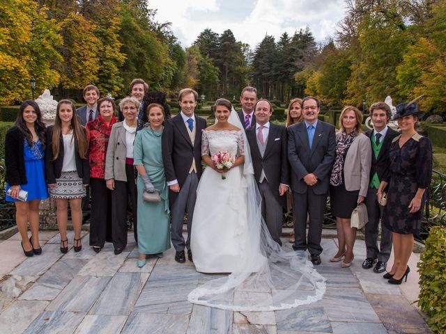 La boda de Javier y Zinaida en San Ildefonso O La Granja, Segovia 51