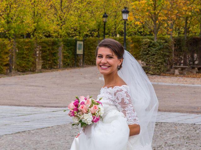 La boda de Javier y Zinaida en San Ildefonso O La Granja, Segovia 52