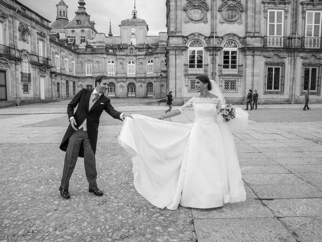 La boda de Javier y Zinaida en San Ildefonso O La Granja, Segovia 53