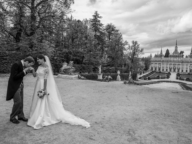 La boda de Javier y Zinaida en San Ildefonso O La Granja, Segovia 57