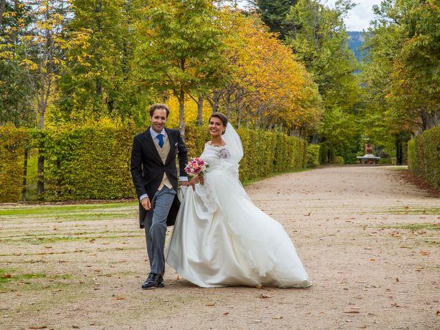 La boda de Javier y Zinaida en San Ildefonso O La Granja, Segovia 58