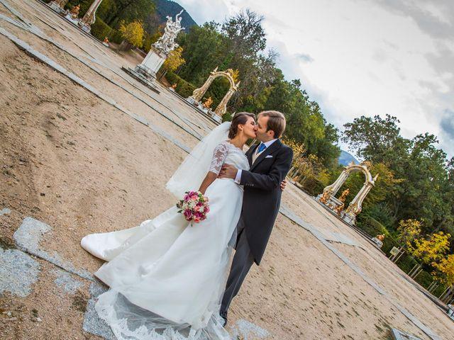 La boda de Javier y Zinaida en San Ildefonso O La Granja, Segovia 61