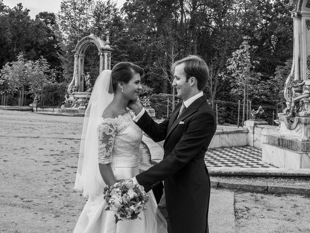 La boda de Javier y Zinaida en San Ildefonso O La Granja, Segovia 62