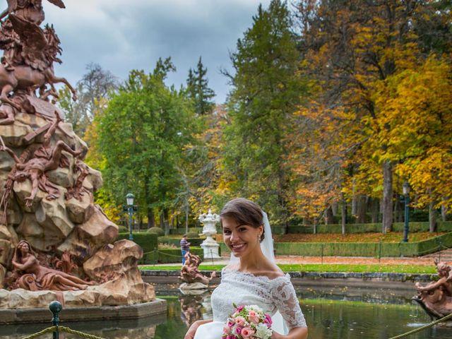 La boda de Javier y Zinaida en San Ildefonso O La Granja, Segovia 66