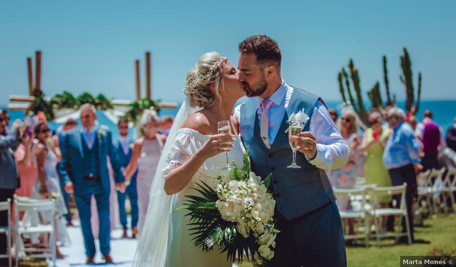La boda de Kye y Beth en Marbella, Málaga