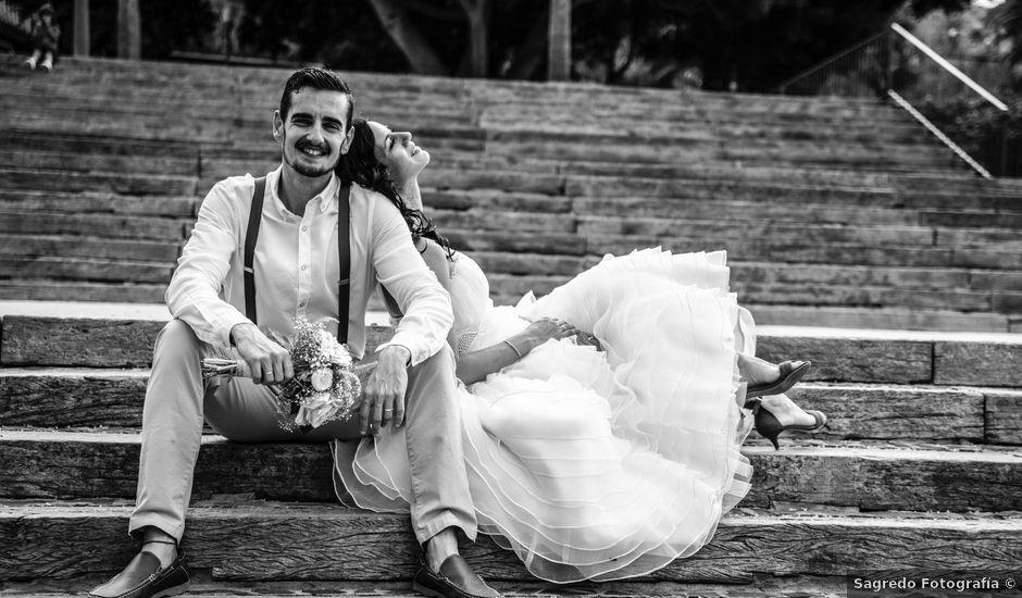 La boda de Emilio y Mabel en Vecindario, Las Palmas
