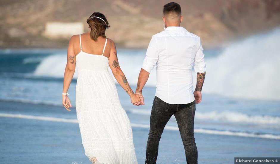La boda de Carlos y Jenifer en Adeje, Santa Cruz de Tenerife
