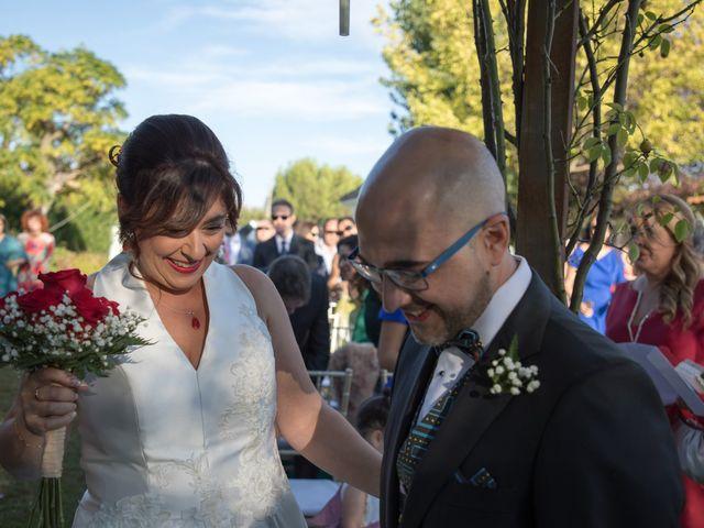 La boda de Guillermo y Angélica en San Roman De Los Montes, Toledo 10