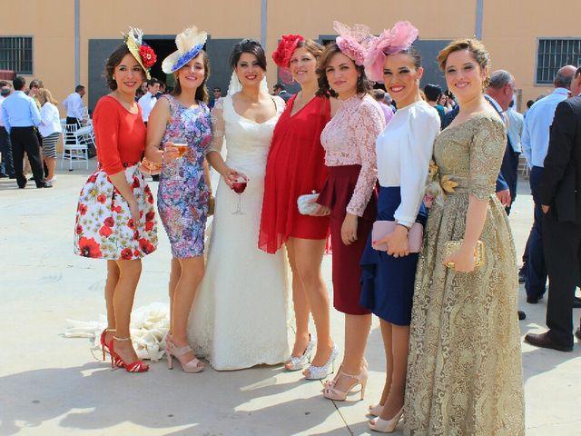 La boda de Antonio  y Estefania  en Cañada Rosal, Sevilla 5