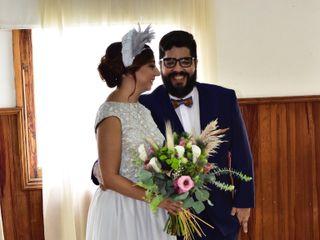 La boda de Elena y Domingo