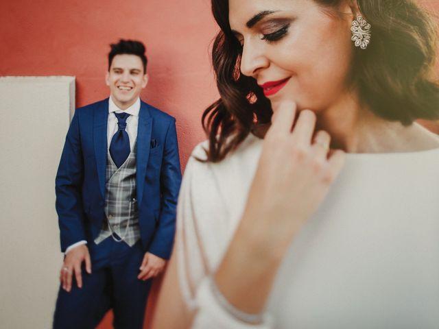 La boda de Virginia y Carlos Alberto