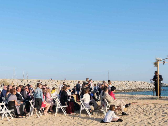 La boda de Norverto y Montserrat en Arenys De Mar, Barcelona 7