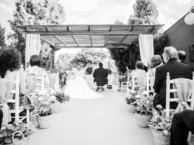 La boda de Kike y Sara en Los Santos De La Humosa, Madrid 2