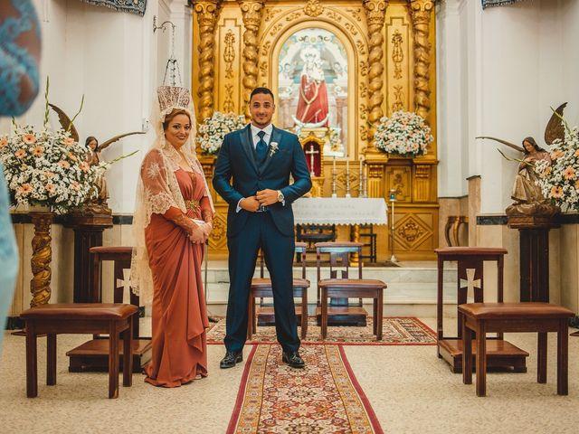 La boda de Carlos y Alba en Los Barrios, Cádiz 19