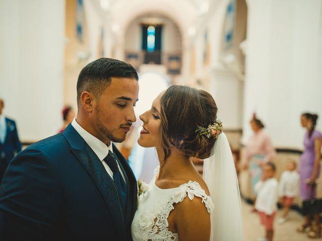 La boda de Carlos y Alba en Los Barrios, Cádiz 27