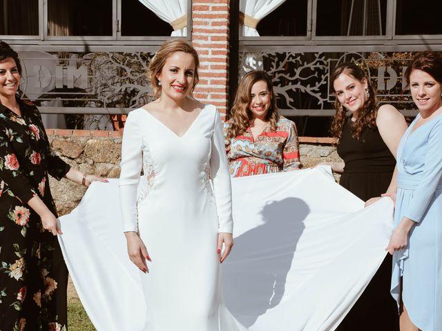 La boda de Jesus y Estefania en Barco De Avila, Ávila 50