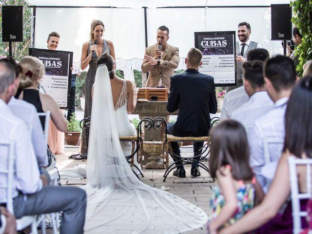 La boda de María y Ramón en San Juan Mozarrifar, Zaragoza 15