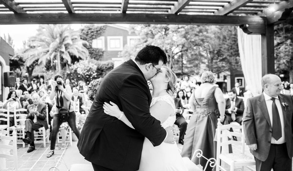 La boda de Kike y Sara en Los Santos De La Humosa, Madrid