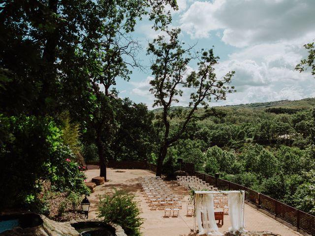 La boda de Angie y Luca en Jarandilla, Cáceres 1