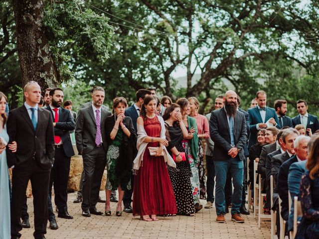 La boda de Angie y Luca en Jarandilla, Cáceres 36
