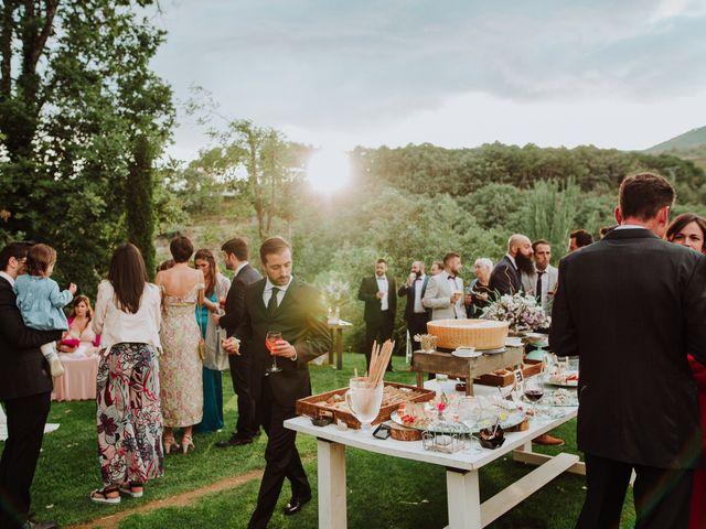La boda de Angie y Luca en Jarandilla, Cáceres 74