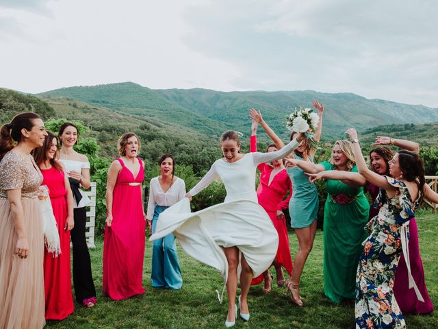 La boda de Angie y Luca en Jarandilla, Cáceres 78