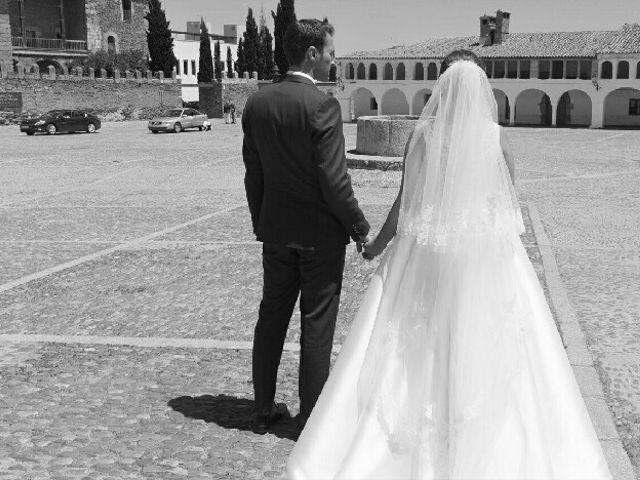 La boda de Sergio y Irene en Garrovillas, Cáceres 2