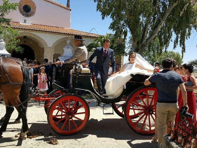 La boda de Sergio y Irene en Garrovillas, Cáceres 11