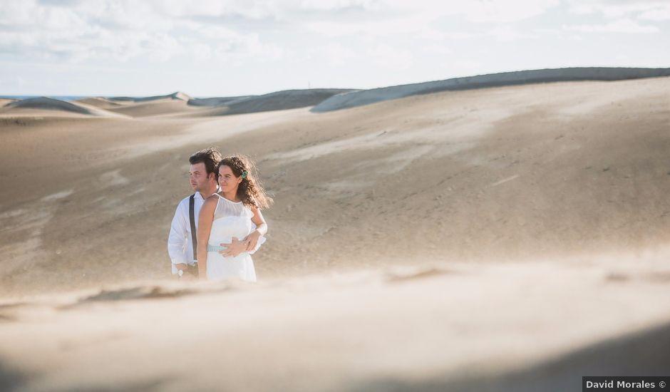 La boda de Matias y Raquel en Las Palmas De Gran Canaria, Las Palmas