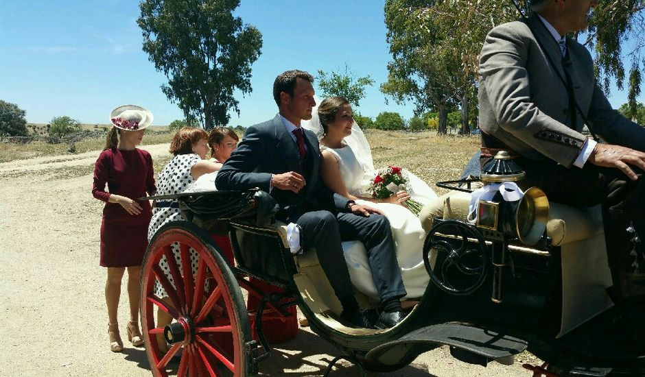 La boda de Sergio y Irene en Garrovillas, Cáceres
