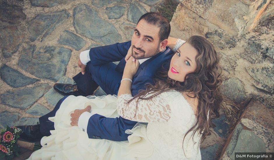 La boda de David y Cristina en Badajoz, Badajoz