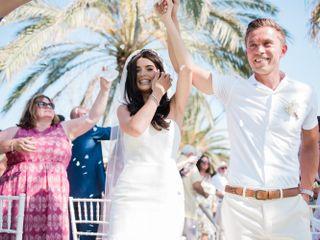 La boda de Cara y Kyle