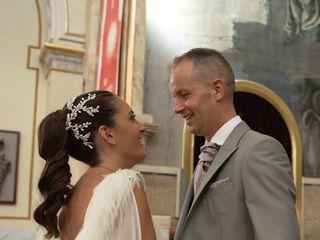 La boda de Flora y Toni