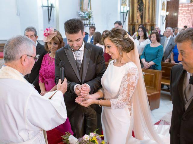 La boda de Manuel y Mª Carmen en Aceuchal, Badajoz 9