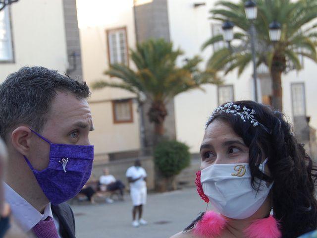 La boda de Alejandro  y Dara  en Las Palmas De Gran Canaria, Las Palmas 5