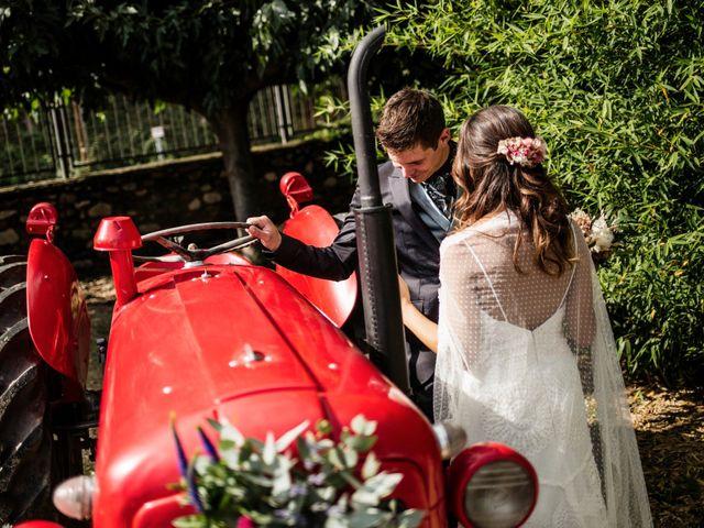 La boda de Edu y Carol en Sant Gregori (Municipio), Girona 14