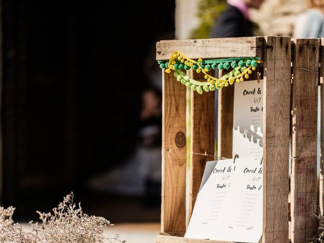 La boda de Edu y Carol en Sant Gregori (Municipio), Girona 18