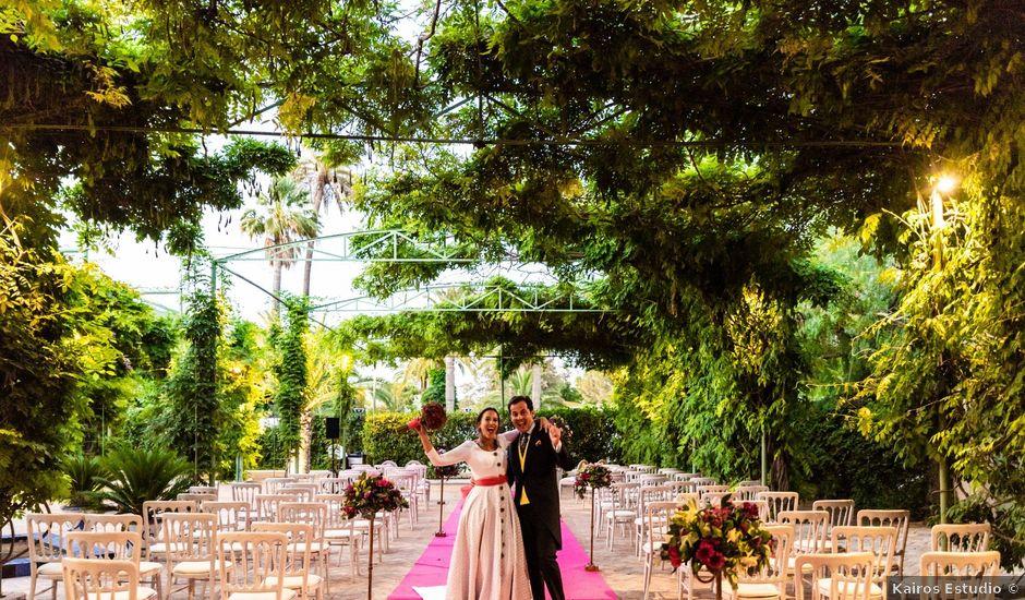 La boda de Mario y Inma en Carmona, Sevilla