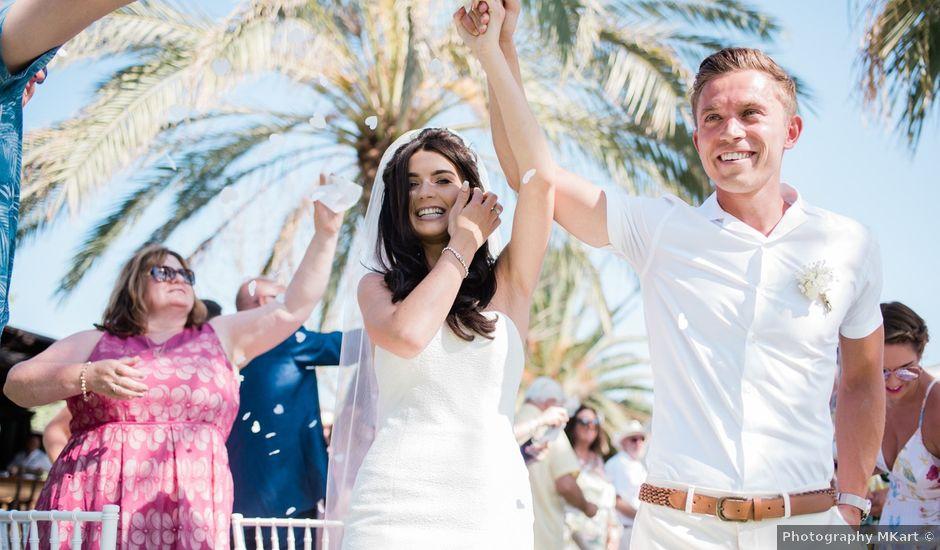 La boda de Kyle y Cara en Eivissa, Islas Baleares