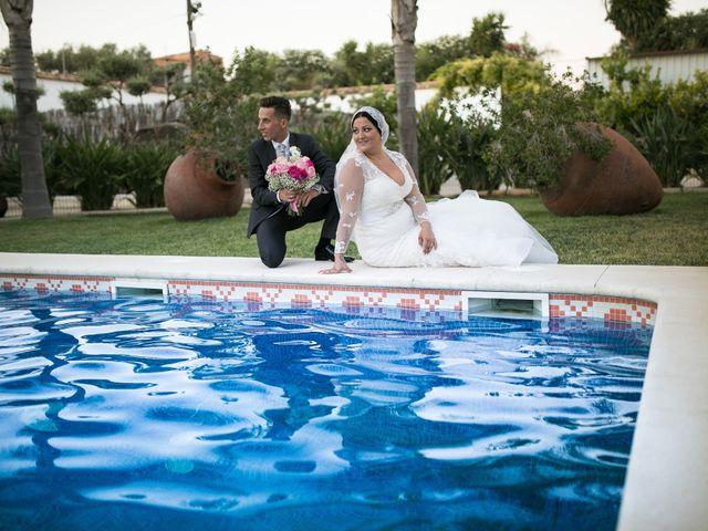La boda de Cristopher y Cristina en Trigueros, Huelva 9
