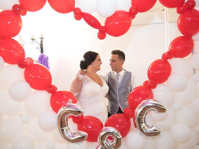 La boda de Cristopher y Cristina en Trigueros, Huelva 13