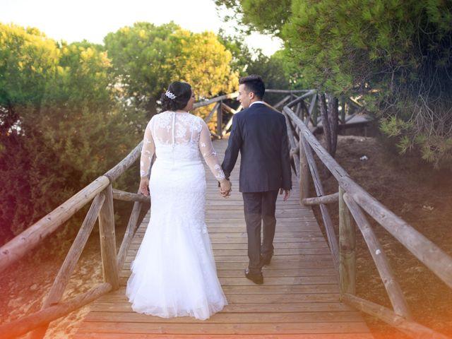 La boda de Cristopher y Cristina en Trigueros, Huelva 17