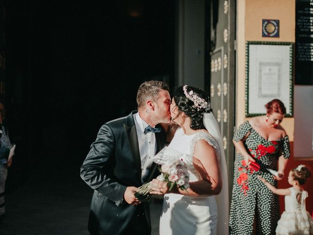 La boda de Javier y Estefania en Santiponce, Sevilla 31